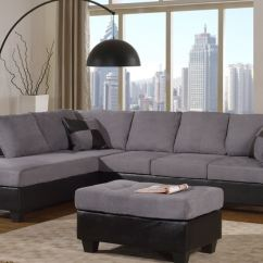 Pictures Of Living Rooms With Grey Sectionals Room Paint Colors India The Furniture Mall Duluth Doraville Master Two Tone Sectional Sofa 2321