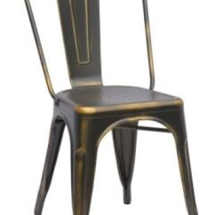 Steel Chair Gold Wedding Covers And Sashes For Sale Uk Chintaly Living Room Galvanized 10039 Decor Interiors