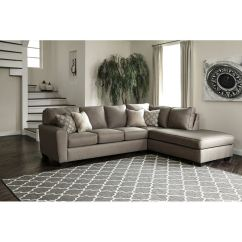 Corner Living Room Table Decorating Ideas For Apartments Pictures Ashley Calicho Laf Sofa Raf Chaise Sectional Portland Or Set 91202 66 17
