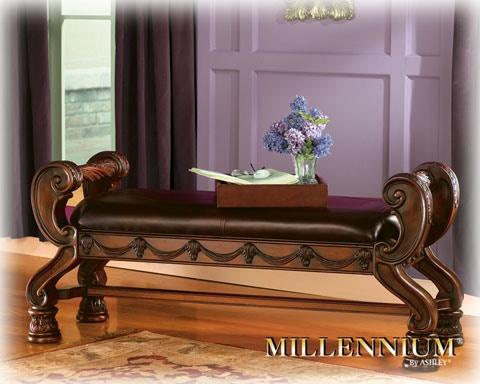 large upholstered bedroom bench b553 09