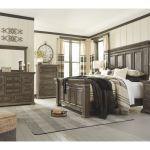 Ashley Wyndahl 8 Piece King Panel Bed Set B813 31 36 46 58 56 97 93 2 Portland Or Key Home