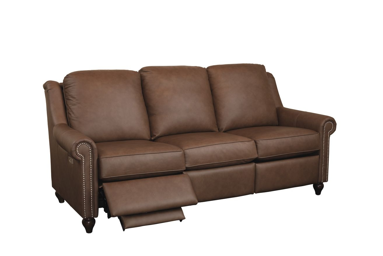 Bassett Magnificent Motion Reclining Leather Sofa M000 72ml Portland Or Key Home Furnishings
