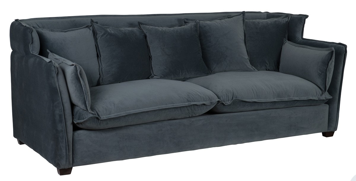 classic sofa 3 2 seater bed home leona gray 53050437 portland or key