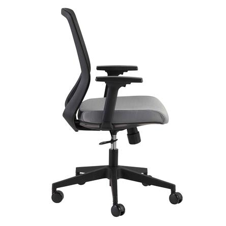 office chair with adjustable arms covers and table linens rentals euro style spiro 39003blk in portland oregon
