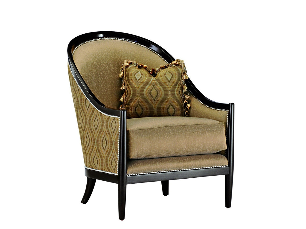 marge carson chairs blue velvet tufted dining chair living room largo lao41 noel furniture