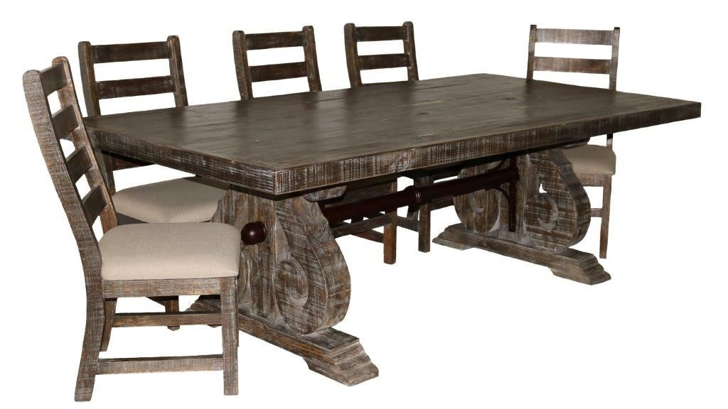 03 2 15 151 8 Bw Savannah Dining Set Table And 6 Chairs