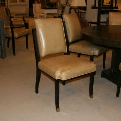 Maitland Smith Dining Chairs Las Vegas Office Factory Outlet Room Set Of 8 Leather 4030 825