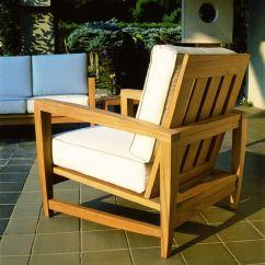 Kingsley Bate Amalfi Club Chair Covers Ikea Canada Deep Seating Lounge Outdoor Patio Am30 At Grossman Furniture