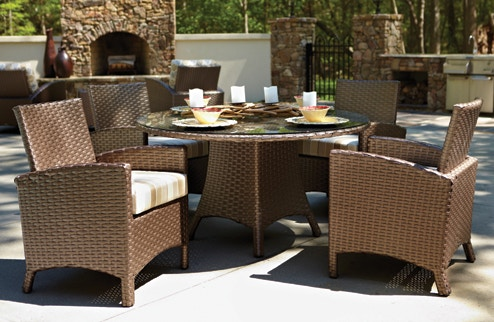 living room sets naples fl best carpet type for outdoor dining tables zing casual and fort anacara atlantis collection atlantis54rnddiningmocha6748