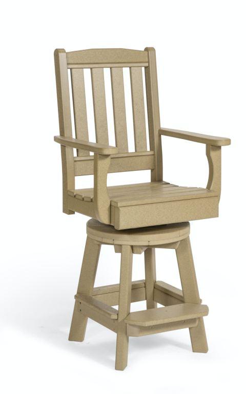 leisure lawn garden swivel chair bar