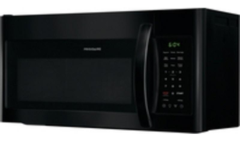 frigidaire home 1 8 cu ft otr microwave blk 185990