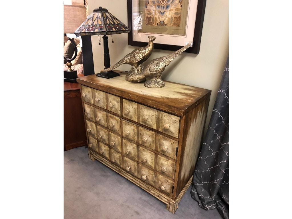 living room dressers decoration designs for rooms bennington furniture vt hooker clearance distressed apothecary cabinet 3010 85001