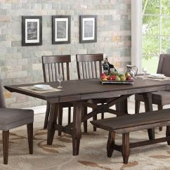 Table And Chairs With Bench Outdoor High Bar Dining Room Tables Woodley S Furniture Colorado Springs Fort Winners Only 6 New Haven