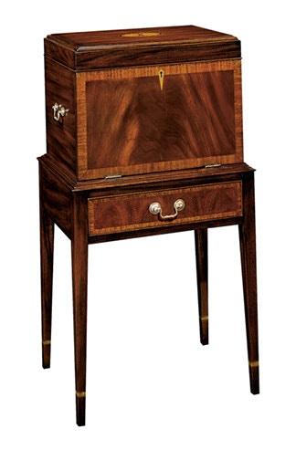 Henkel Harris Furniture Dining Room Hepplewhite Silver