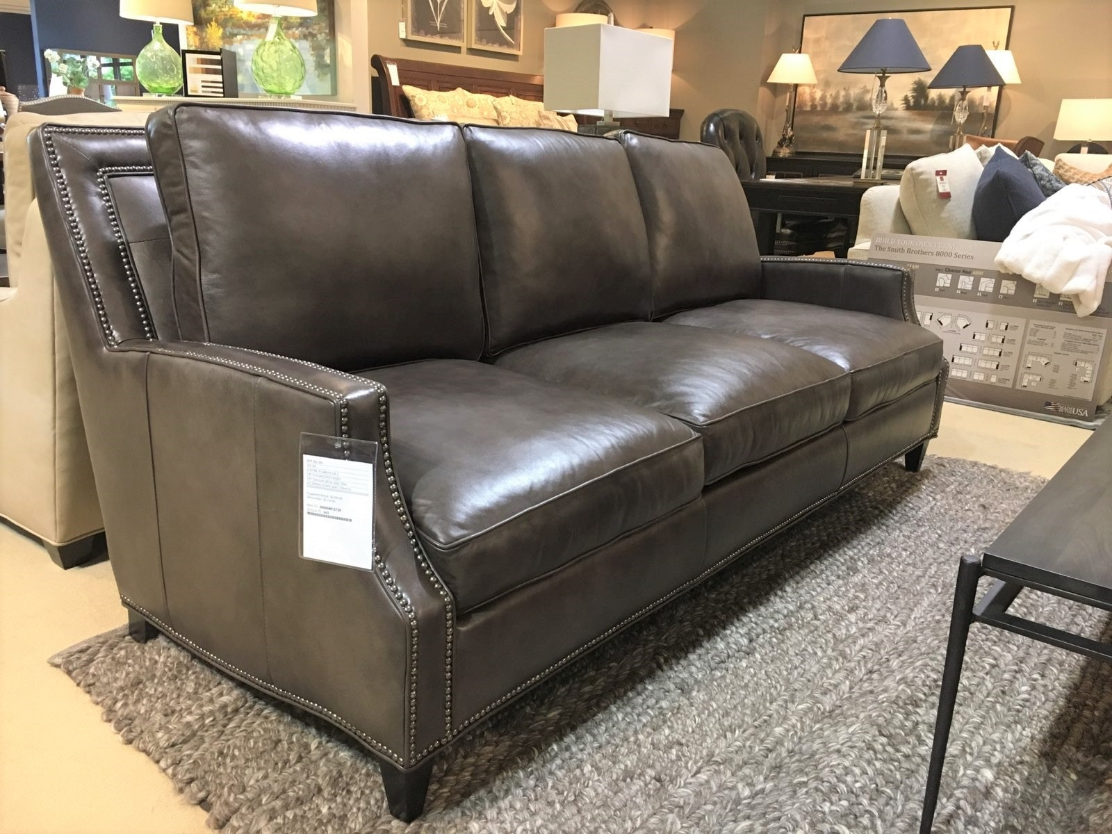 leather living room furniture clearance italian ideas bradington young 769 95plgm howe sofa goods in charlotte