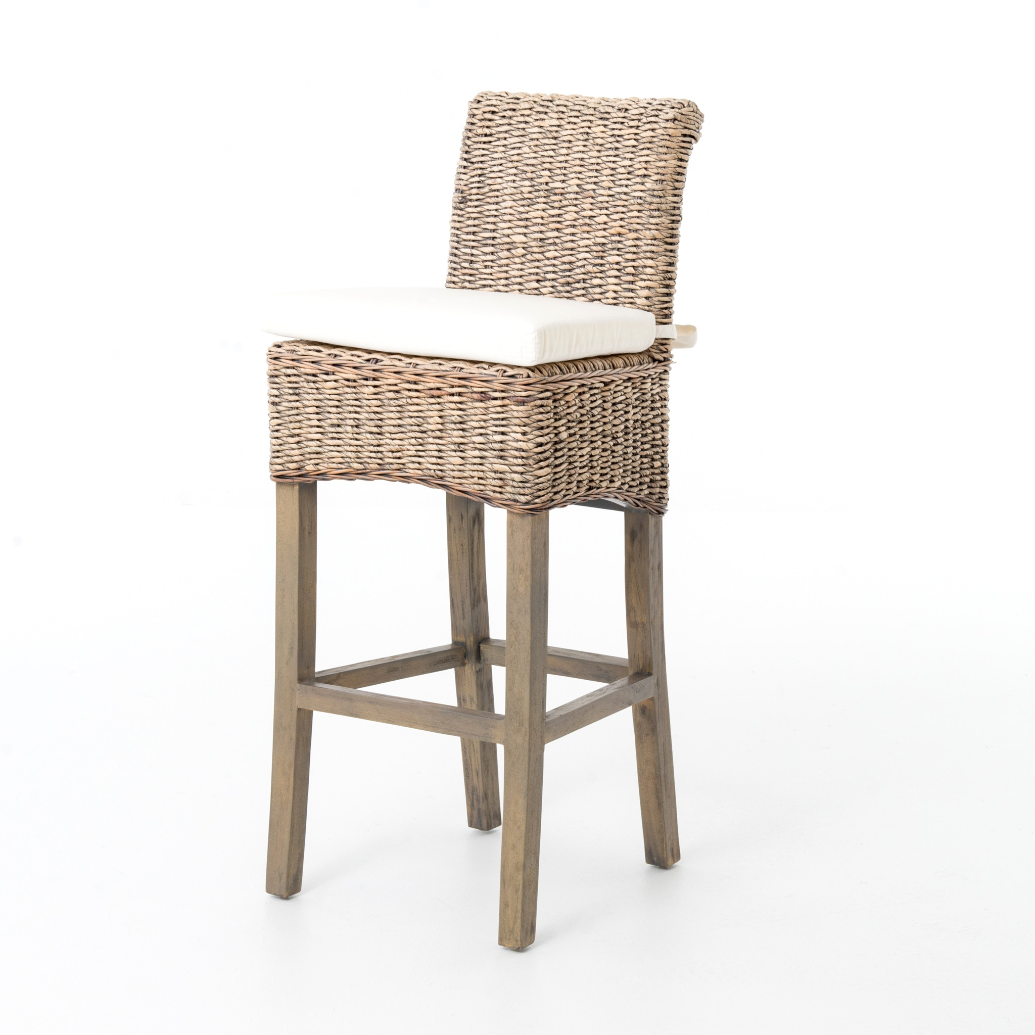 banana leaf dining room chairs at home four hands furniture jchr b1bsg gry