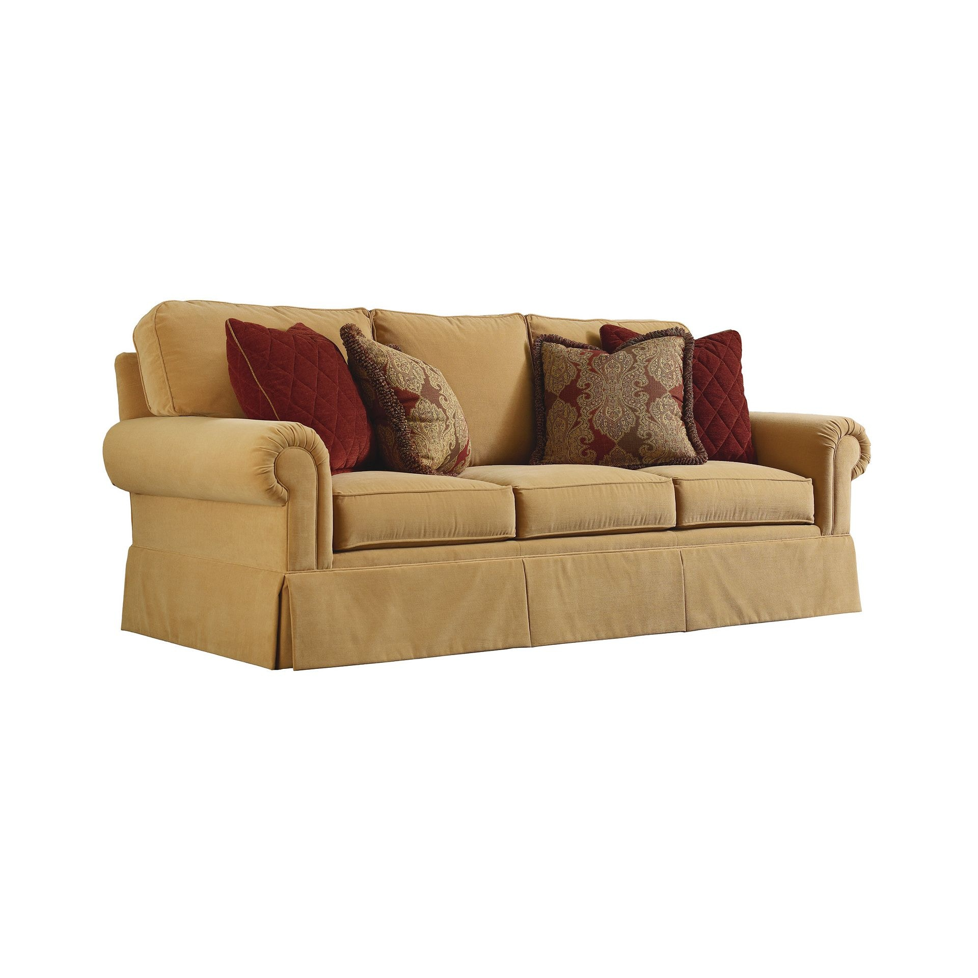 henredon sofa fabrics cork furniture h2700 c 1 living room fireside custom upholstery is handmade and some slight variances in dimensions are normal wood finishes fabric colors may vary