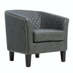 Accent Chair Gray Bike Beach Holder Pulaski Furniture Ds 2515 900 1 Living Room Quilted Barrel Small Space