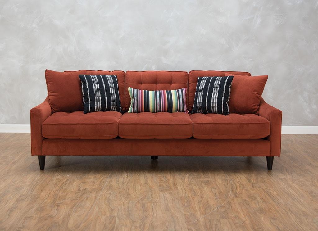 palmer sofa light blue modern ashley 205 leather walnut thesofa