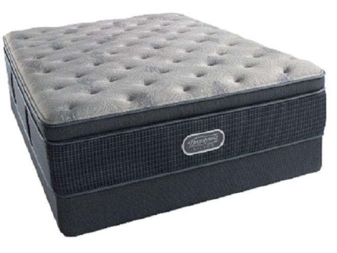 Simmons Beautyrest Silver St Thomas Plush Super Pillowtop Twin Mattress Set G70097