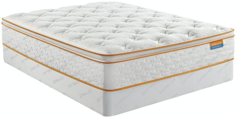 thrillzz full plush pillow top mattress only