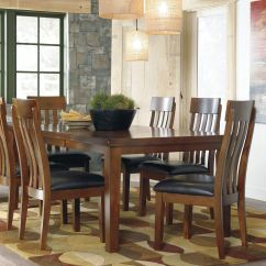 Table And 6 Chairs Sears High Canada Ashley Ralene Butterfly With D594 Gustafson S