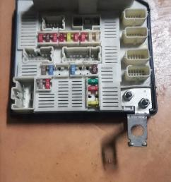 fuse box for renault scenic and megane junk mail renault scenic fuse box removal fuse box [ 1536 x 2725 Pixel ]