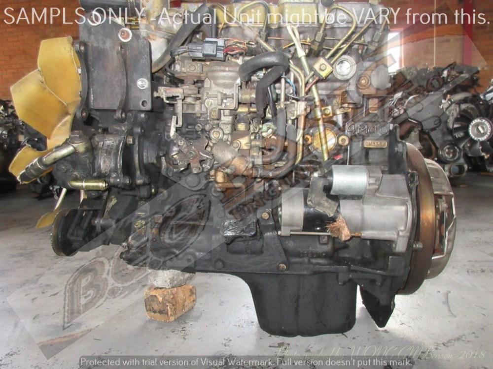 medium resolution of mitsubishi pajero 4m40 2 8l turbo diesel engine
