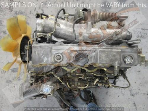 small resolution of mitsubishi pajero 4m40 2 8l turbo diesel engine