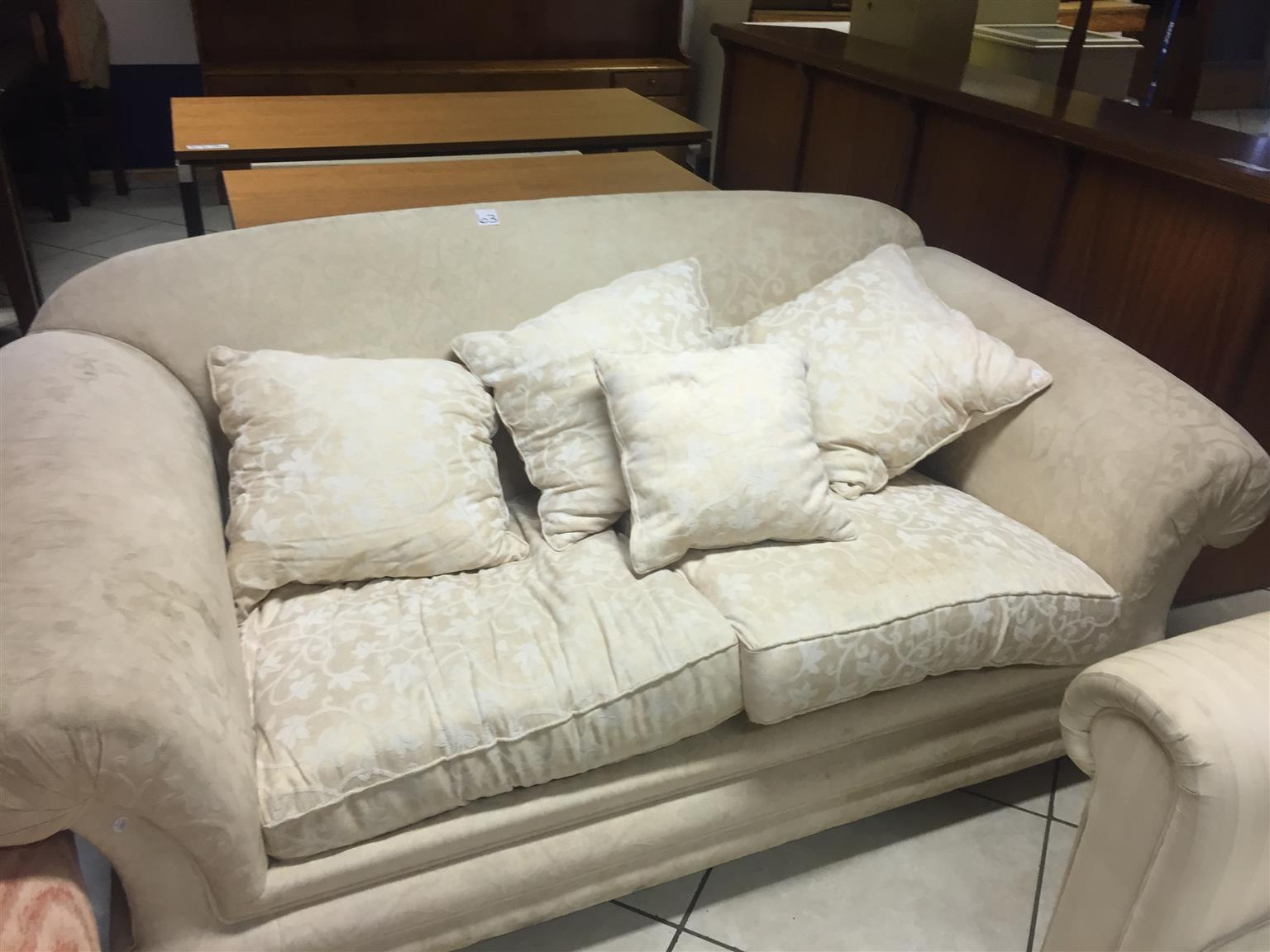 living room sofas south africa 2 coastal furniture sofa in junk mail seater cream