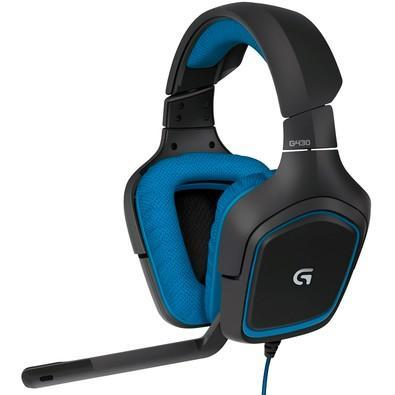 Headset Gamer Logitech G430 7.1 Dolby Surround