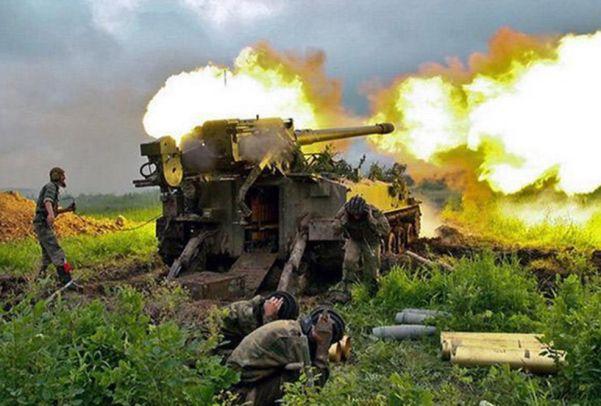 L'armée ukrainienne tirs photo Printscreen Twitter