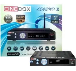 Resultado de imagem para CINEBOX LEGEND X
