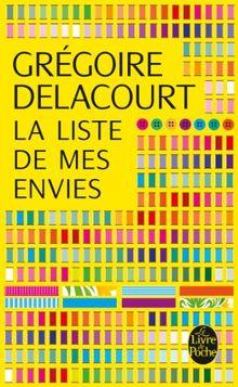 La Liste De Mes Envies Livre : liste, envies, livre, Liste, Envies, Grégoire, Delacourt