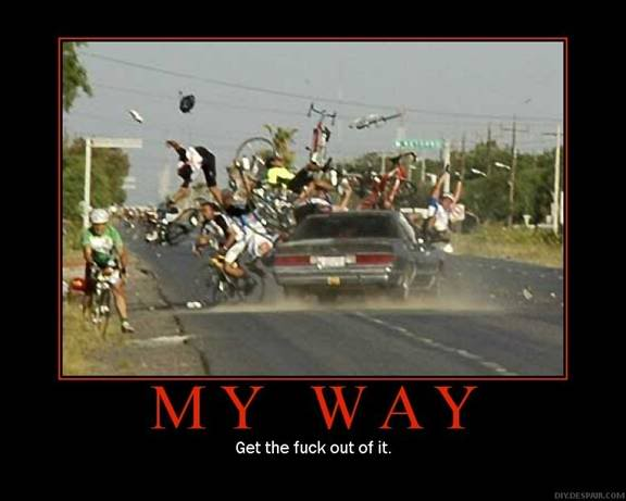 Image result for get the fuck out of my way