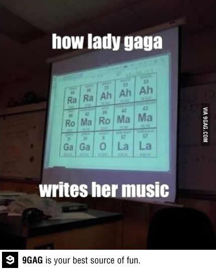 Periodic Table Memes : periodic, table, memes, Writes, Music, According, Periodic, Table, Asjadsakki, Memedroid