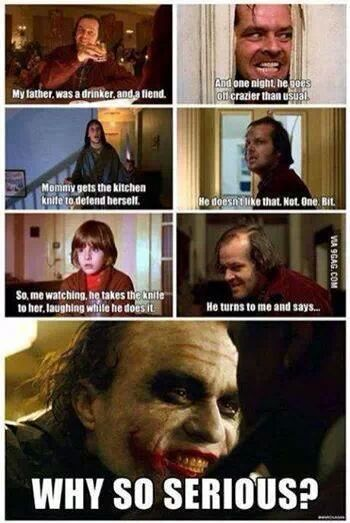 HOLY SHIT TRIBUTE TO THE SHINING - Meme by Disturbed_112 :) Memedroid