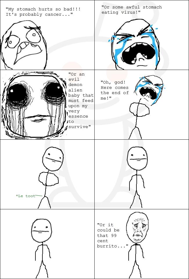 My Tummy Hurts Meme : tummy, hurts, Tummy, Hurts, BlackStarr5, Memedroid