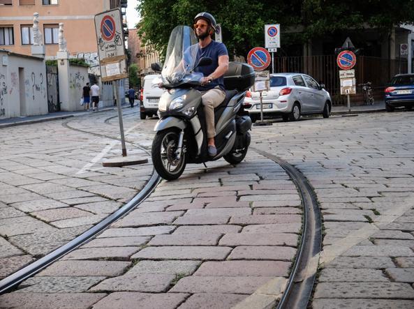 L'incrocio Carroccio-Lesmi (foto Matteo Corner/LaPresse)