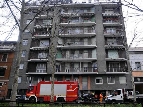 Risultati immagini per Milano - Fuga di gas, evacuato palazzo di otto piani