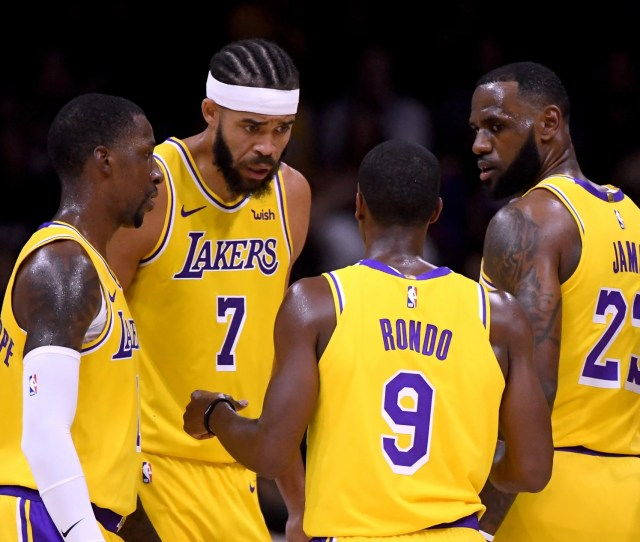 Los Angeles Lakers Team Evaluation Before Suspension