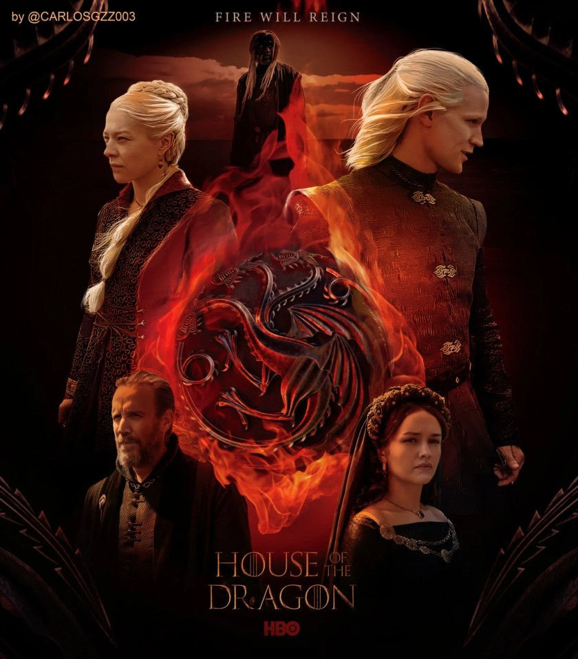 Check out this epic poster for House of the Dragon