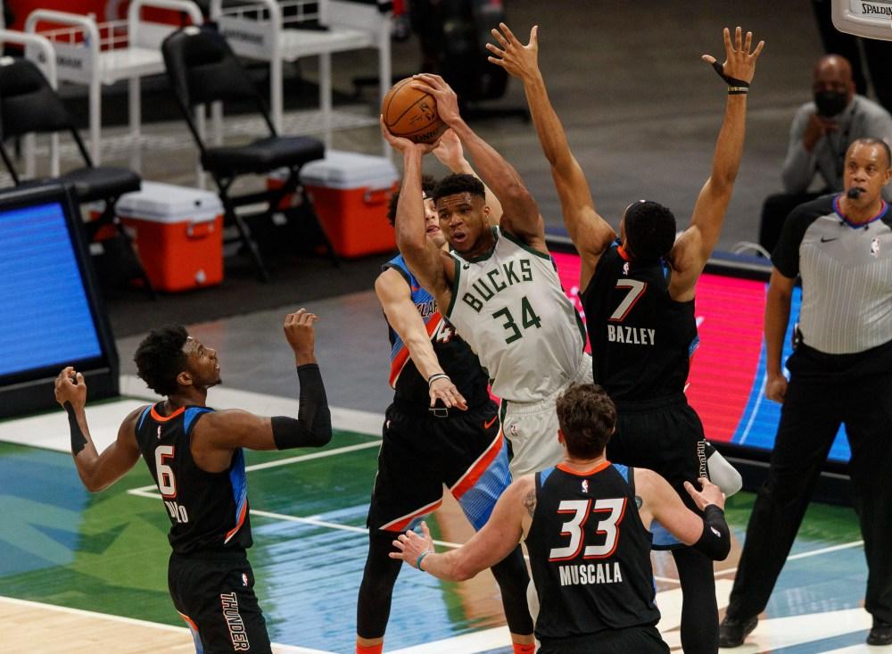 Αποτέλεσμα εικόνας για Milwaukee Bucks - Oklahoma City Thunder 98-85