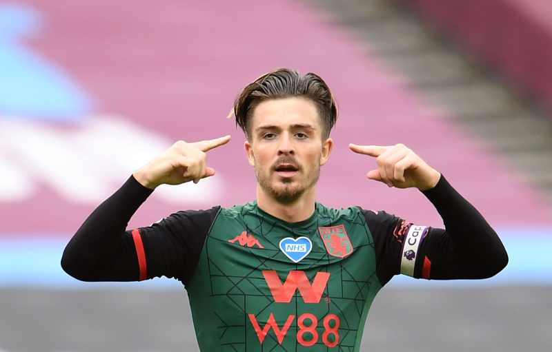 Jack Grealish and the possible destinations come the start of the season