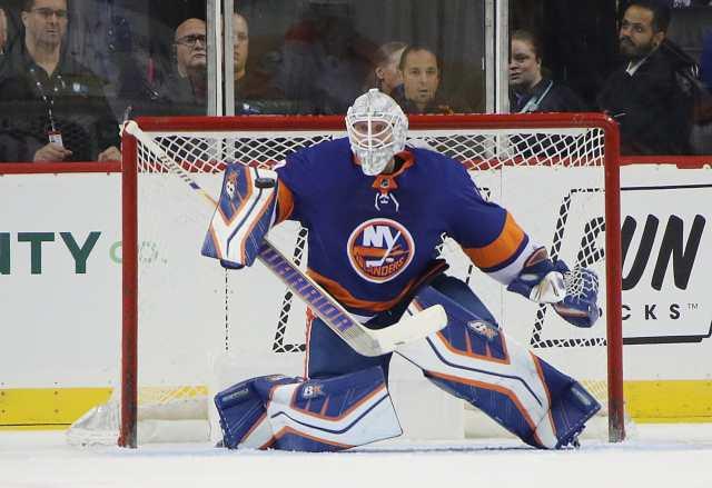 New York Islanders Robin Lehner Not Favored to Win Vezina Trophy