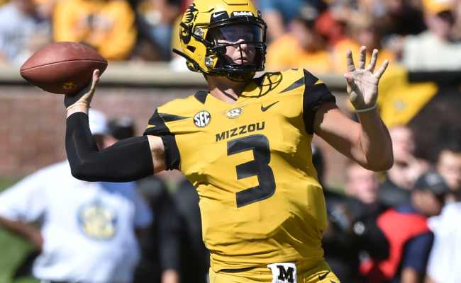 2019 Nfl Draft Missouri Qb Drew Lock Looks Like The Next