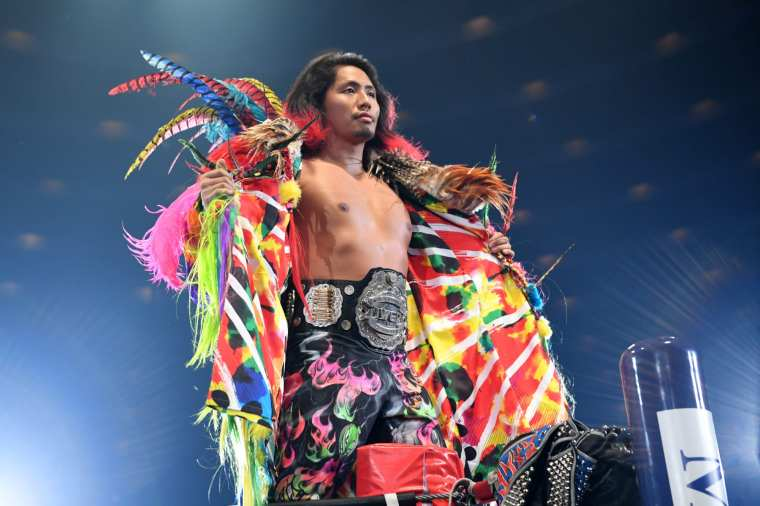 Hiromu Takahashi, a shining star in the New Japan ring