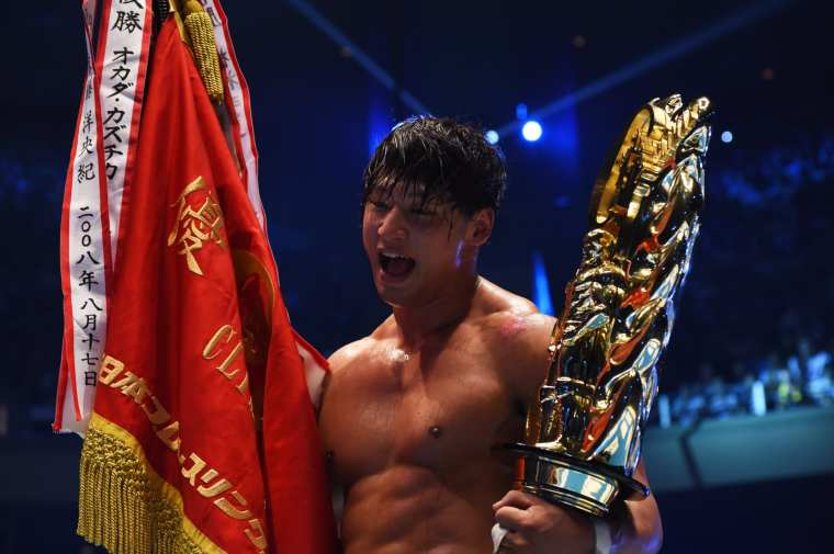 Kota Ibushi wins double titles