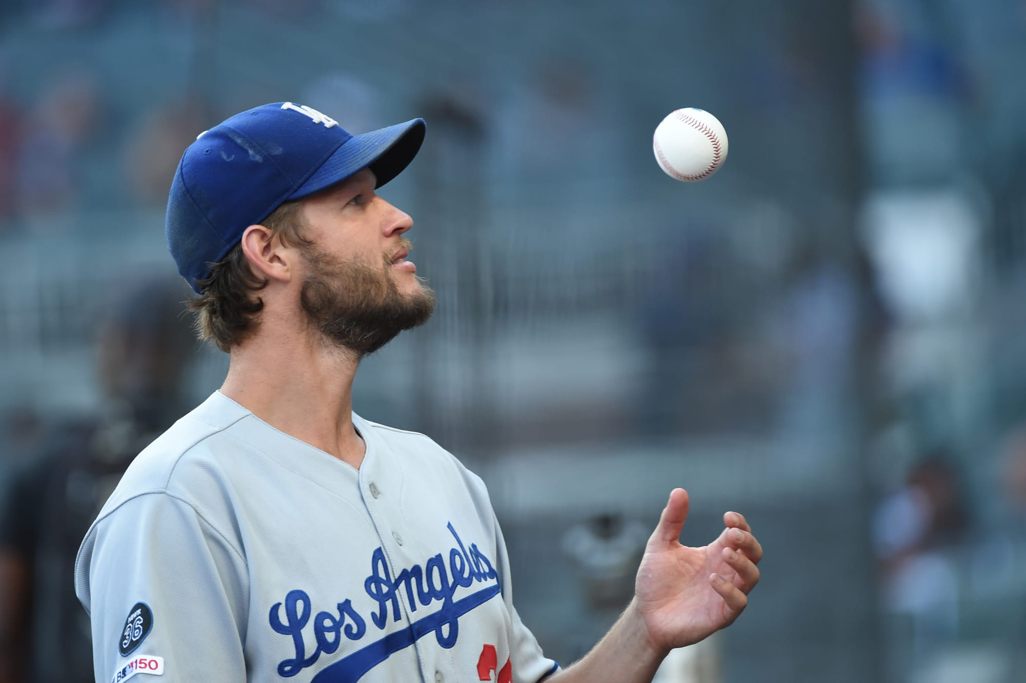 Photo of Dodgers shooting pitcher with a hilarious and ironic name