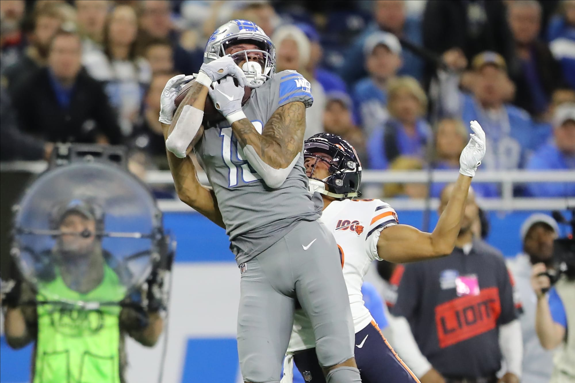 Photo of Kenny Golladay was the best contested catch guy in 2019